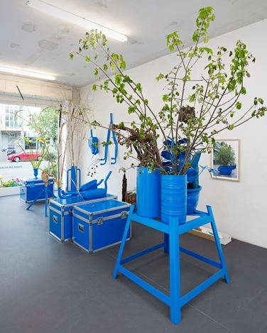 Exhibition view:Frank Bruggeman,How to do the FLOWERS, Brutto Gusto, Berlin (27 April–30 June 2012). Courtesy Brutto Gusto.