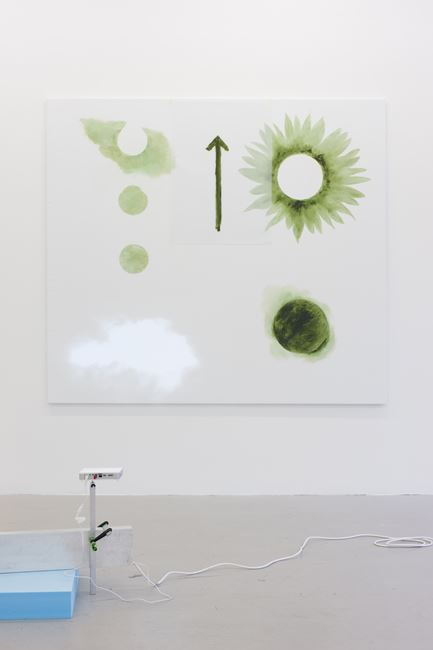 Flower and sun (cloud) by Peter Hagdahl contemporary artwork
