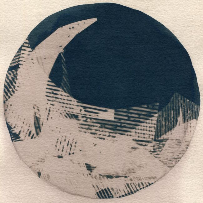 Horizon Variations 07 by Corinne De San Jose contemporary artwork