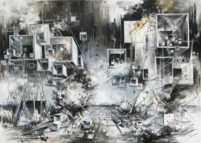 Utopia XXII by Inna Artemova contemporary artwork