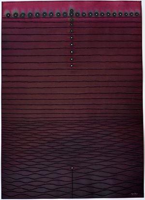 Amrita IV by Sohan Qadri contemporary artwork works on paper
