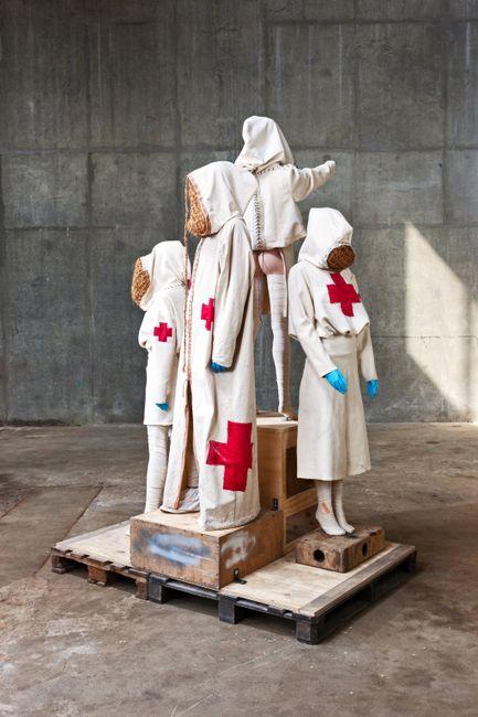 Salvation by Atel ier Van Lieshout contemporary artwork