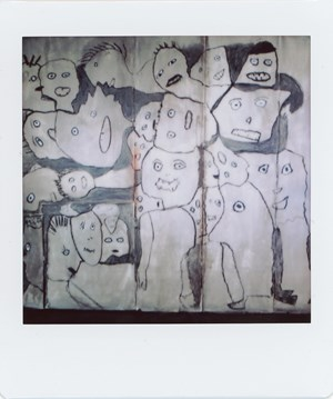 Untitled #073-6 by Roger Ballen contemporary artwork
