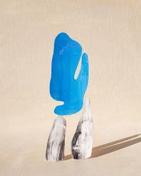 blues by Ina Jang contemporary artwork print