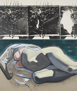 Winter Terrace by David Salle contemporary artwork