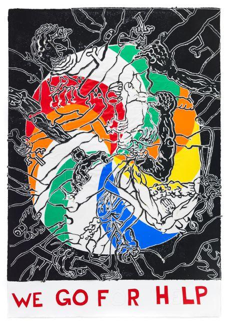 We Go For Help by Trenton Doyle Hancock contemporary artwork