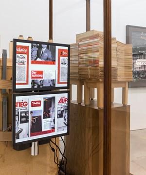 Der Aufstieg by Reinhard Mucha contemporary artwork