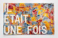 untitled 2020 (il était une fois) (map, 1961) by Rirkrit Tiravanija contemporary artwork textile