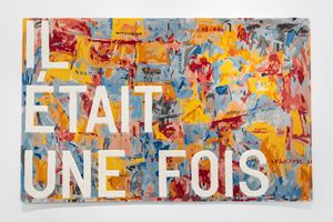 untitled 2020 (il était une fois) (map, 1961) by Rirkrit Tiravanija contemporary artwork