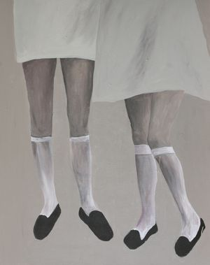 Knees by Chati Coronel contemporary artwork
