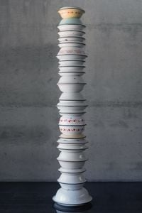 Food for Thought 8 by Maha Malluh contemporary artwork sculpture