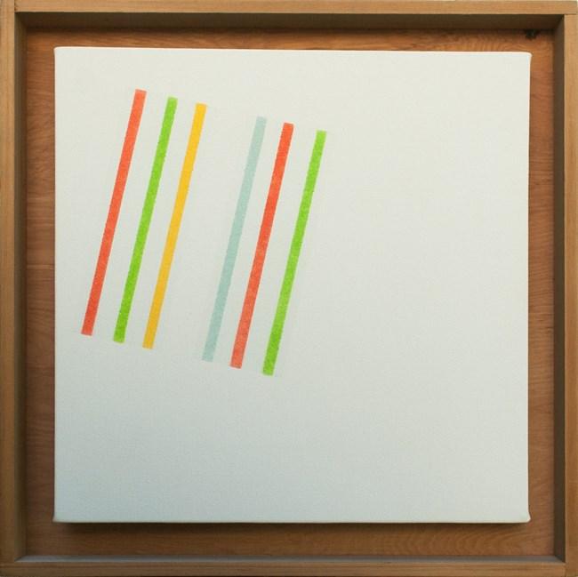 Colour Diagonal No. 2 by Ian Scott contemporary artwork