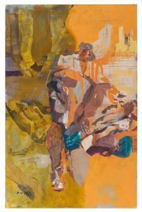 Gold Shade II by Maki Na Kamura contemporary artwork painting
