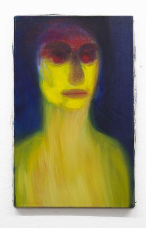 Hysterisch by Miriam Cahn contemporary artwork painting
