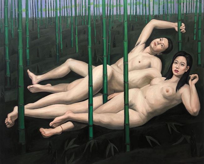 Bamboo by Qin Qi contemporary artwork