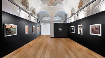 Contemporary art exhibition, Lucio Fontana | Enrico Baj | Piero Manzoni, Lucio Fontana | Enrico Baj | Piero Manzoni at Mazzoleni, Turin