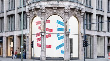 Contemporary art exhibition, Lawrence Weiner, LAWRENCE WEINER at Galerie Thomas Schulte, Berlin