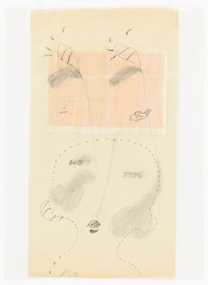 wo-rri by Gerhard Hoehme contemporary artwork works on paper
