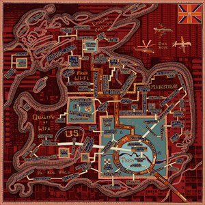 Red Carpet by Grayson Perry contemporary artwork