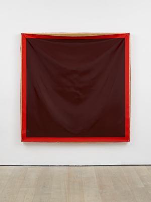 Bare (Red) by Angela De La Cruz contemporary artwork
