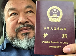 Ai Weiwei free to travel overseas again after China returns his passport