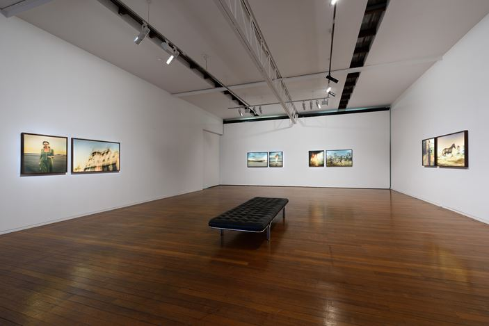 Exhibition view: Tracey Moffatt, Portals, Roslyn Oxley9 Gallery (12 July–3 August 2019). Courtesy Roslyn Oxley9 Gallery.