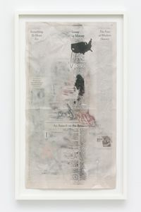 Pages from The Book of Hours (The Face of Modern Slavery) by Christian Holstad contemporary artwork mixed media