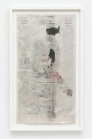 Pages from The Book of Hours (The Face of Modern Slavery) by Christian Holstad contemporary artwork