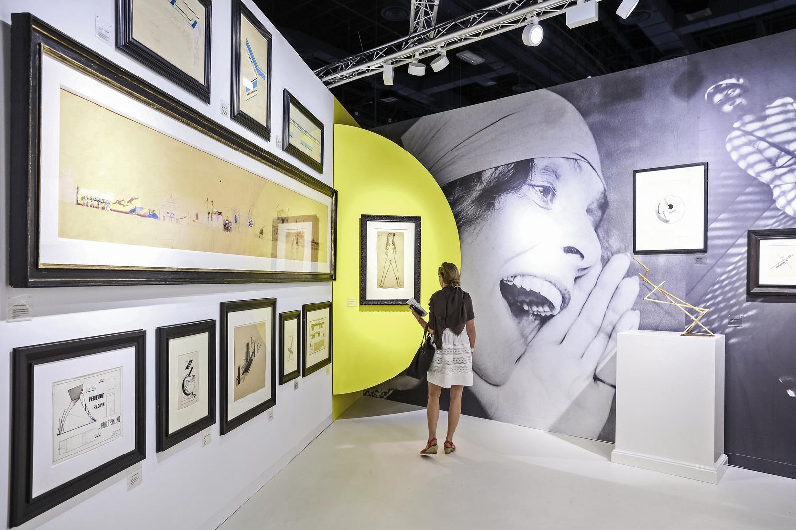 Galerie Gmurzynska at Art Basel in Miami Beach 2016. Photo: © Charles Roussel & Ocula.