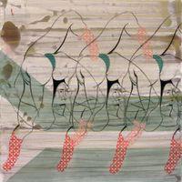 Green AntiBody by Hayv Kahraman contemporary artwork painting