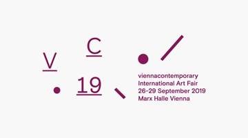 Contemporary art exhibition, Vienna Contemporary 2019 at Galerie Krinzinger, Vienna