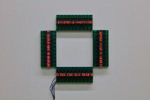 Opposite Square by Tatsuo Miyajima contemporary artwork