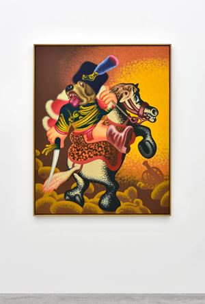 Untitled by Peter Saul contemporary artwork