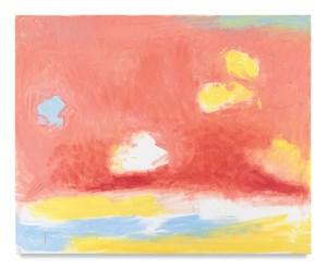 Horizontal by Esteban Vicente contemporary artwork