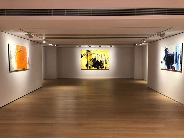 Exhibition view: Chinyee,Dances of the Inner Being,Alisan Fine Arts, Central, Hong Kong(7 December 2018–19 January 2019).Courtesy Alisan Fine Arts.