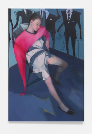 My rules by Deng Shiqing contemporary artwork painting