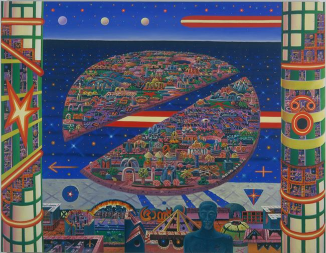 Invasion by Jyothi Basu contemporary artwork