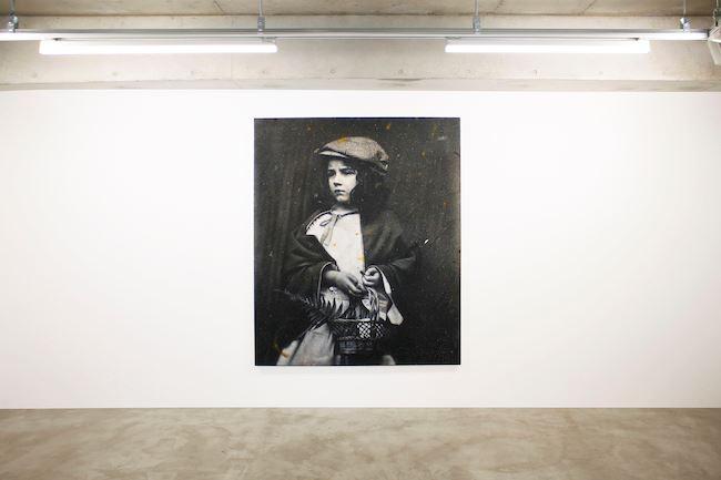 Exhibition view: Takahiro Yamamoto,Aging Painting, MAKI, Tokyo (12 June–18 July 2020). Courtesy MAKI, Tokyo.