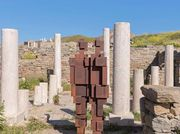Antony Gormley's haunting sculptures on the Greek island of Delos