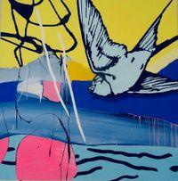 Escape by Dan Baldwin contemporary artwork painting