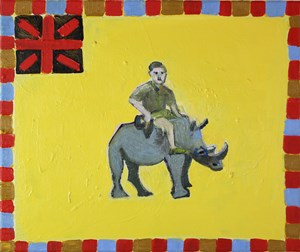 Who will Speak for England by Carla Busuttil contemporary artwork