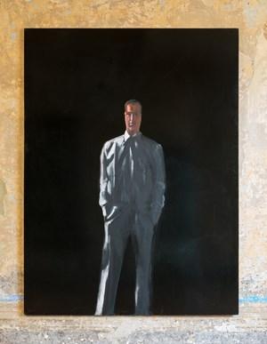Il presente - Autoritratto in camicia by Michelangelo Pistoletto contemporary artwork