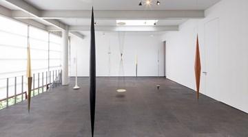 Contemporary art exhibition, Artur Lescher, Asterismos at OMR, Mexico City