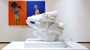 Contemporary art exhibition, Michael Kvium & Christian Lemmerz, Duo Solo Exhibition of Michael Kvium & Christian Lemmerz at Tang Contemporary Art, Bangkok