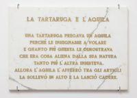 La tartaruga e l'aquila, by Salvo contemporary artwork sculpture