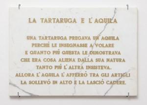 La tartaruga e l'aquila, by Salvo contemporary artwork