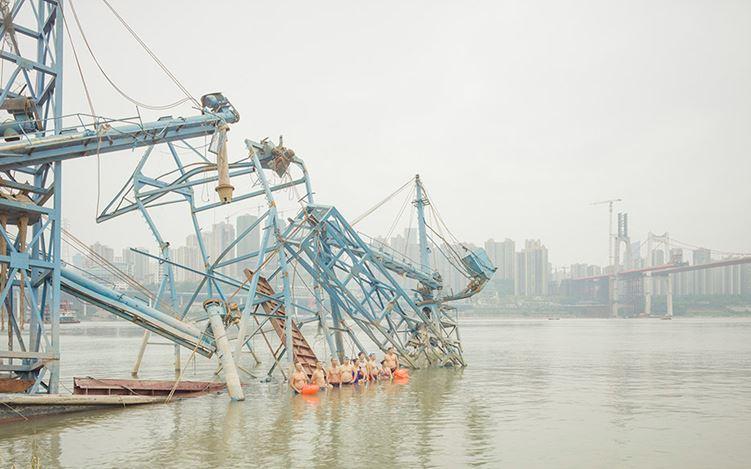 Zhang Kechun, Adandoned Boats (2017) (detail). Archival pigment print. Courtesy Huxley-Parlour.