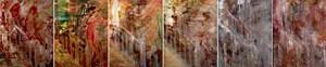 Nu descendant un escalier by Angel Vergara contemporary artwork