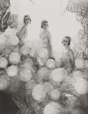 The Soapsuds Group, '(Baba Beaton, Wanda Baillie-Hamilton and Lady Bridget Poulett) at the Living Posters Ball by Cecil Beaton contemporary artwork