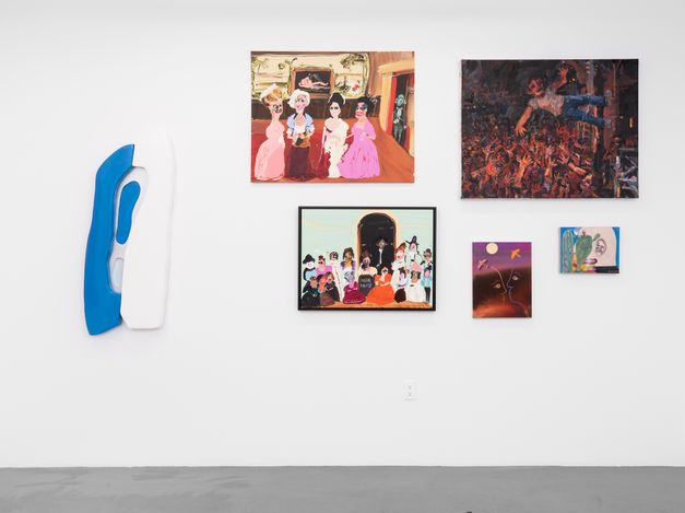 Exhibition view: Group Exhibition, August Presentation, Almine Rech, Aspen (6 August–22 August 2021).Courtesy Almine Rech. Photo: Tony Prikryl.